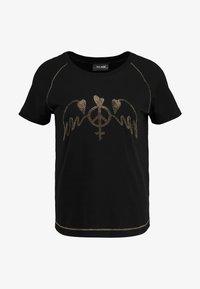 Mos Mosh - MAG TEE - Print T-shirt - black - 4