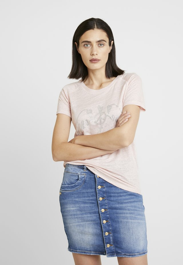 MAG TEE - T-shirt med print - chintz rose