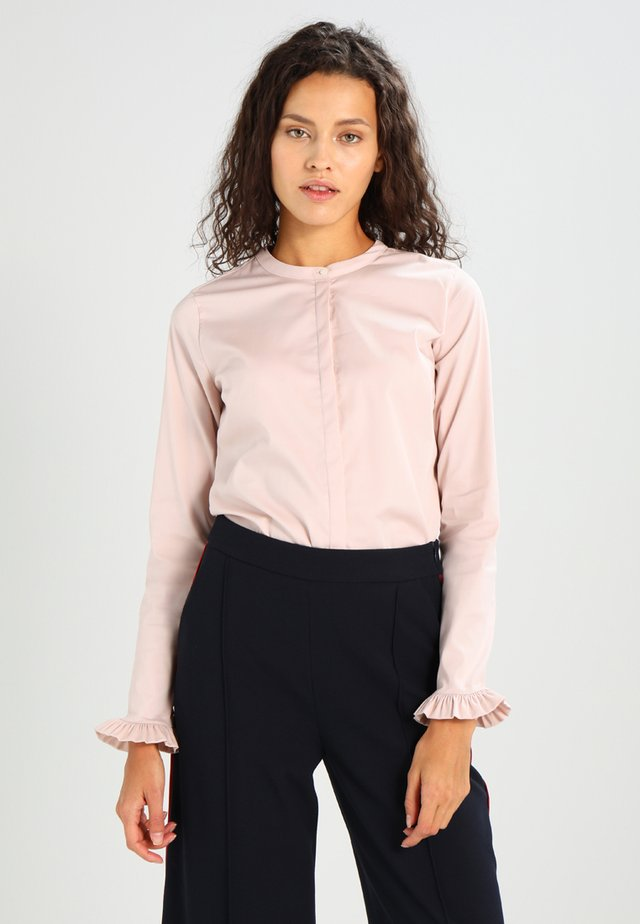 MATTIE - Button-down blouse - light rose