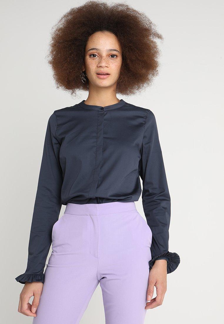 Mos Mosh - MATTIE - Button-down blouse - blue