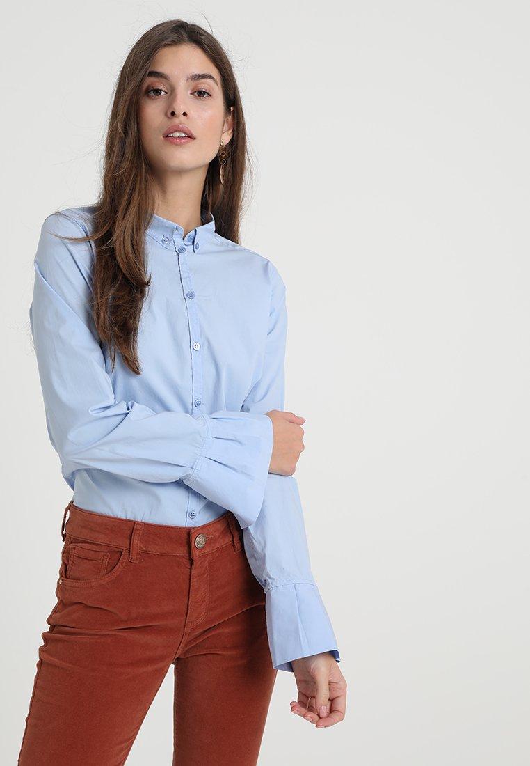 Mos Mosh - NELA - Button-down blouse - light blue