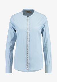 Mos Mosh - Damen Maggie - Button-down blouse - light blue - 4