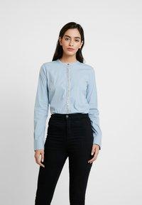 Mos Mosh - Damen Maggie - Button-down blouse - light blue - 0