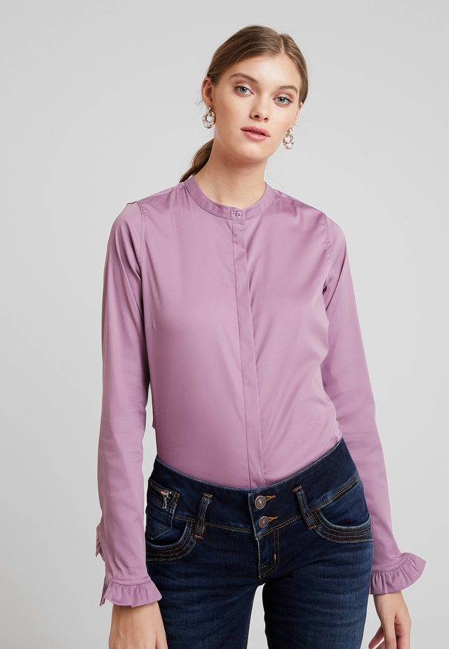MATTIE - Button-down blouse - very grape