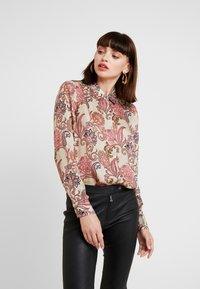 Mos Mosh - TAYLOR WEAVE - Camisa - vintage rose - 0