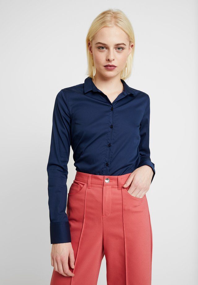 TILDA  - Button-down blouse - night blue