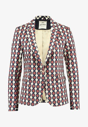 BLAKE MEKKO - Blazer - off-white/red