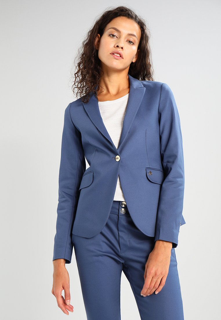 Mos Mosh - BLAKE NIGHT SUSTAINABLE - Blazer - indigo blue