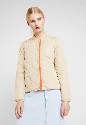 RUBY SPRING JACKET - Bomberjacks - safari