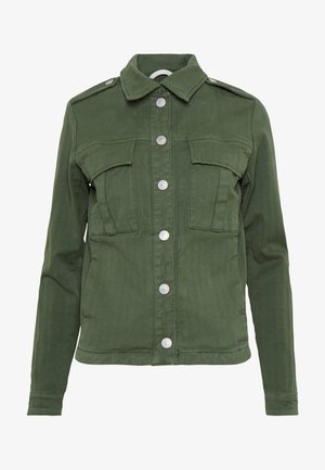 BLAIR HERRINGBONE JACKET - Summer jacket - union green