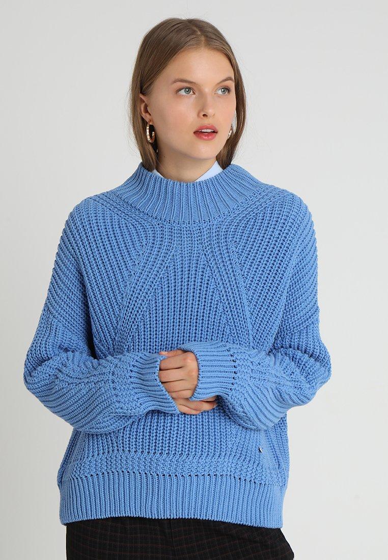 Mos Mosh - LIZ  - Pullover - ultramarine