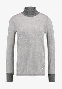 Mos Mosh - CASIO ROLL NECK - Sweter - grey melange - 4
