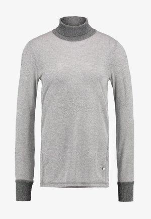 CASIO ROLL NECK - Jersey de punto - grey melange