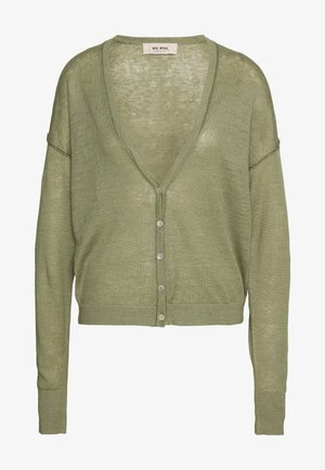 LARK CARDIGAN - Vest - oil green