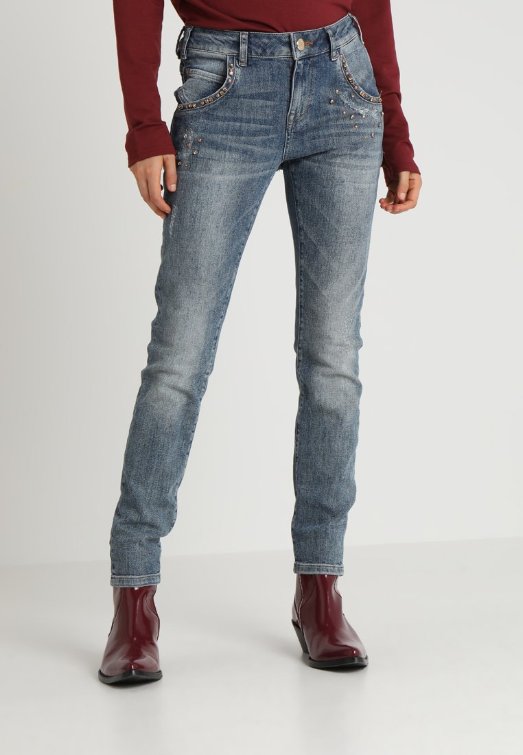 Mos Mosh - JAIME STONE - Slim fit jeans - light blue denim