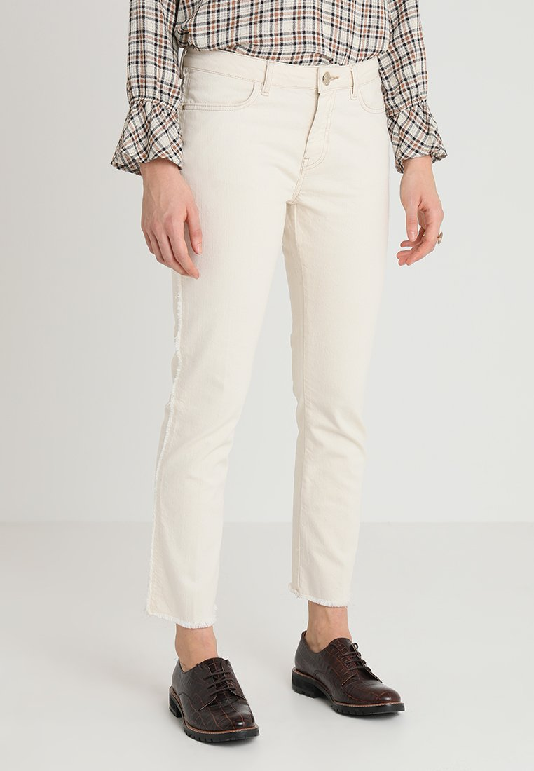 Mos Mosh - SUNN FRILL - Jeans Slim Fit - ecru