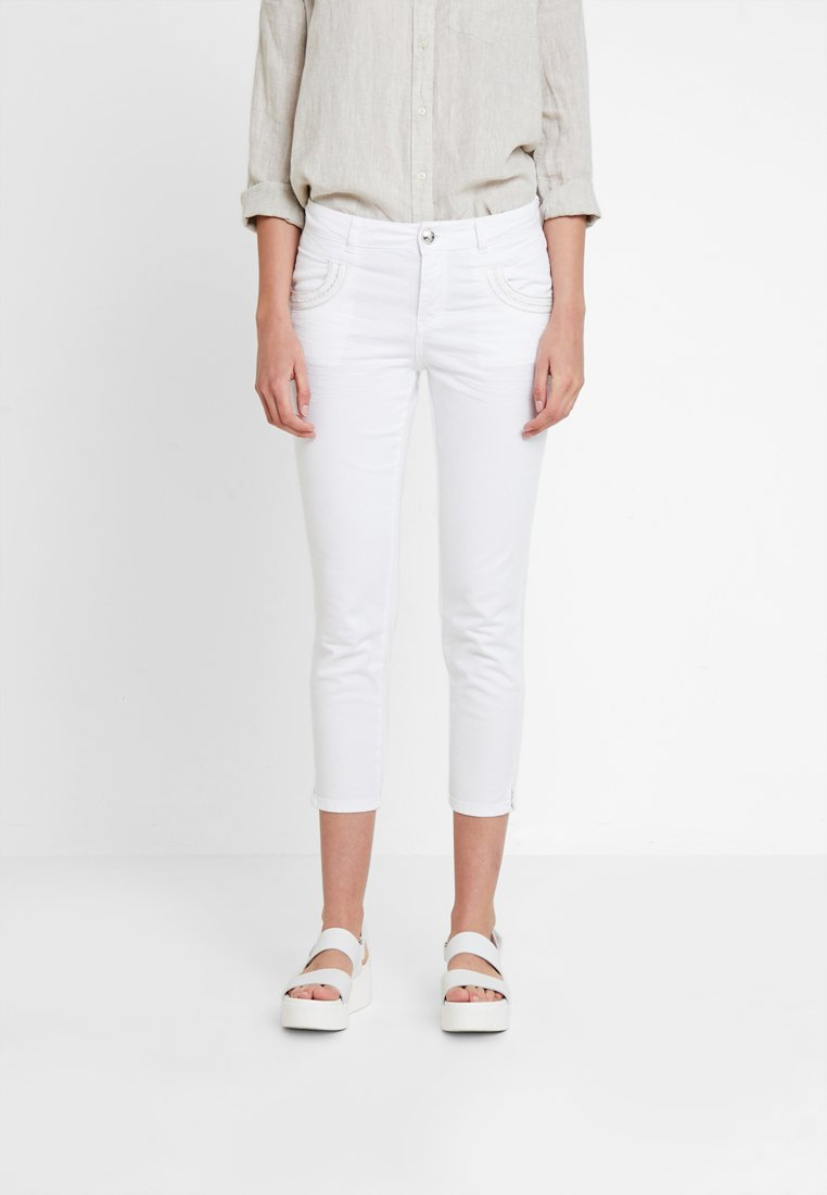 Mos Mosh - MUSCAT 7/8 PANT - Jeans Skinny - white