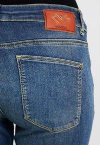 Mos Mosh - VICTORIA  - Jeans Skinny Fit - blue denim - 3