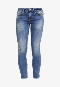 Mos Mosh - SUMNER VINTAGE ZIP - Jeansy Slim Fit - light blue denim - 4