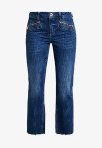 Mos Mosh - SIMONE ZIP - Jeans Bootcut - blue denim - 3