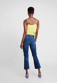 Mos Mosh - SIMONE ZIP - Jeans Bootcut - blue denim - 2