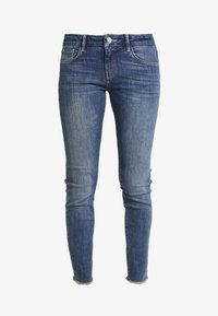 Mos Mosh - SUMNER BLOSSOM - Slim fit jeans - blue - 4