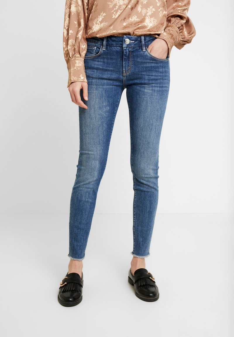 Mos Mosh - SUMNER BLOSSOM - Slim fit jeans - blue