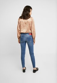 Mos Mosh - SUMNER BLOSSOM - Slim fit jeans - blue - 2
