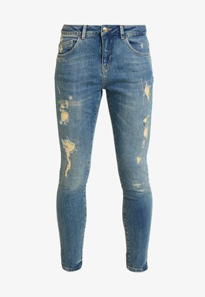 BRADFORD WORKED - Jeans Skinny Fit - blue denim