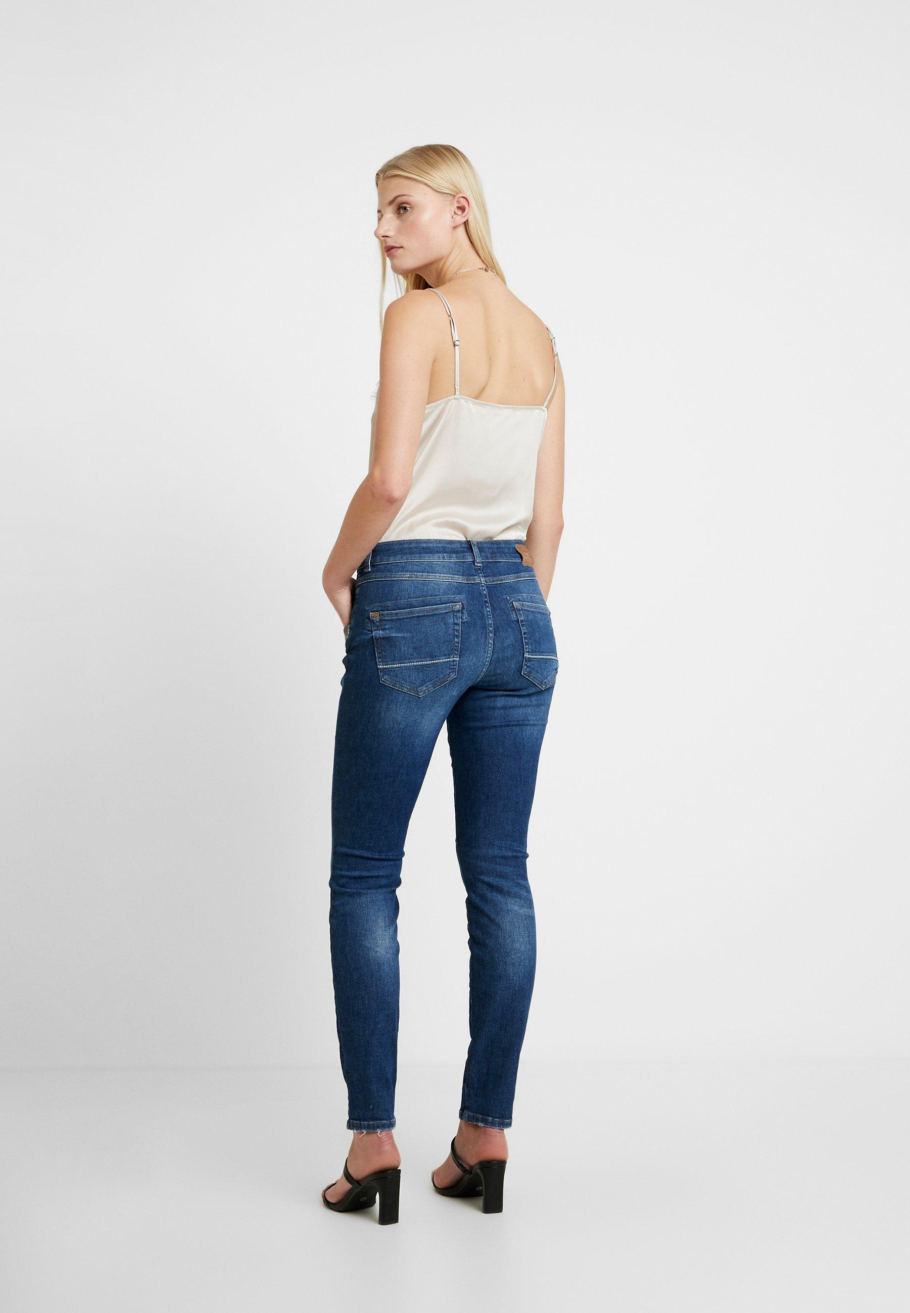 Mos Mosh Paisley - Jeans Skinny Fit Dark Blue