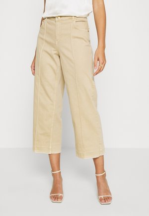 CORA - Jeans Relaxed Fit - safari