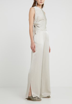 HANNY - Trousers - silver
