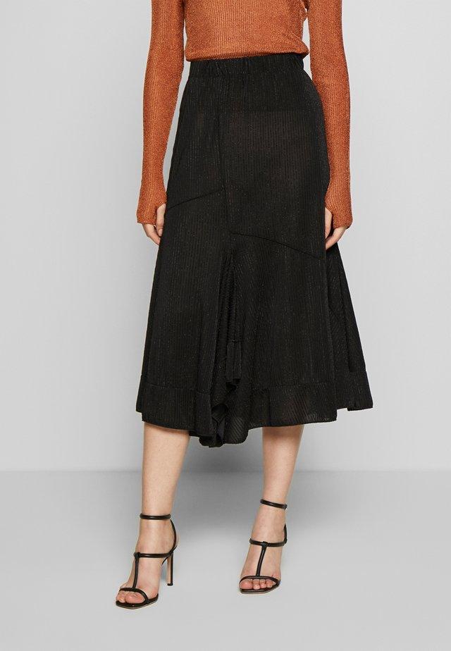 RIO - A-snit nederdel/ A-formede nederdele - black