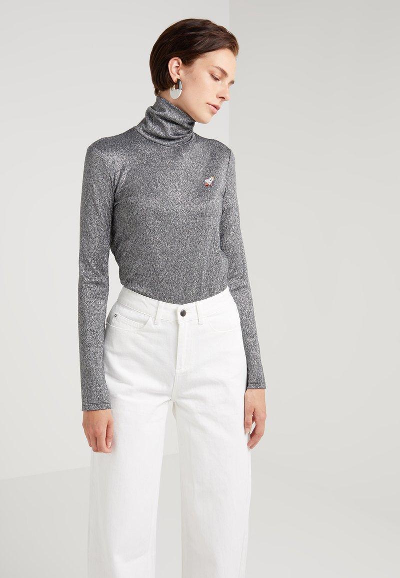 Mykke Hofmann - TIARA - Langarmshirt - silver