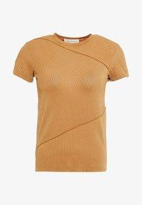 Mykke Hofmann - TEA - T-shirt z nadrukiem - yellow - 3
