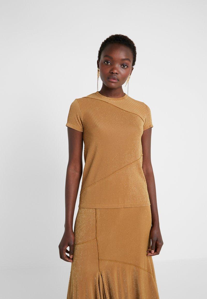 Mykke Hofmann - TEA - T-Shirt print - yellow