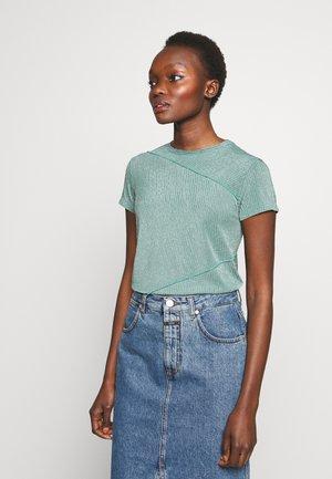 TEA - T-shirts med print - mint green