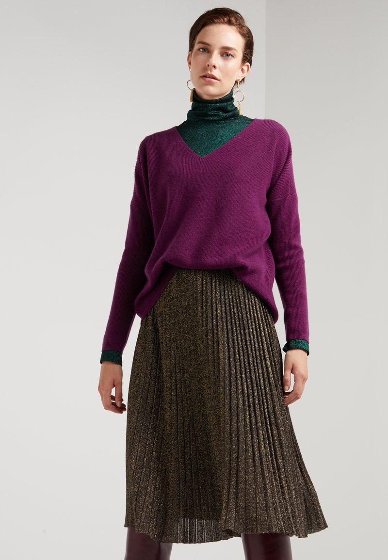 Mykke Hofmann - PAZA - Sweter - purple