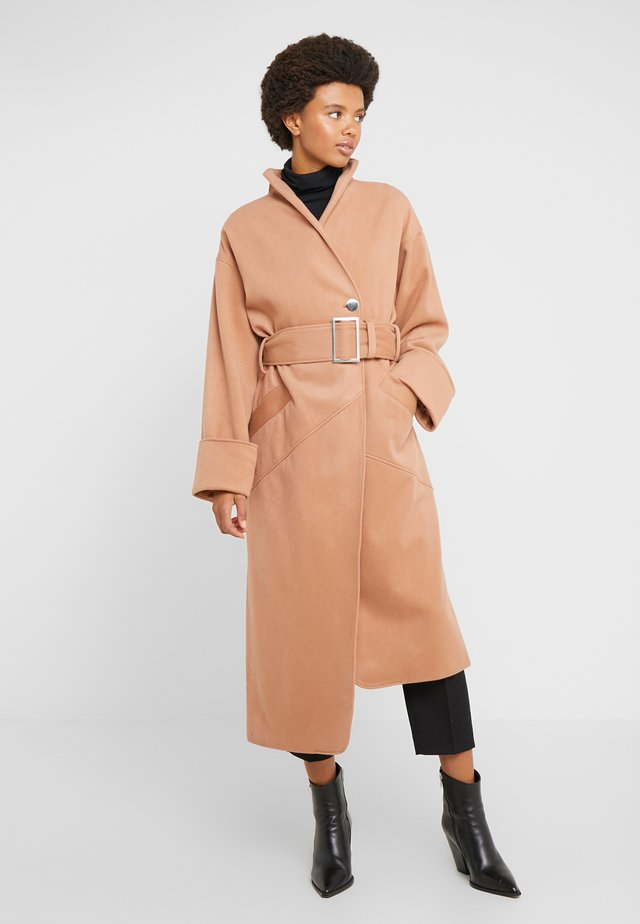 MONA - Płaszcz wełniany /Płaszcz klasyczny - nude