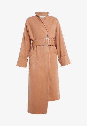 MONA - Classic coat - nude