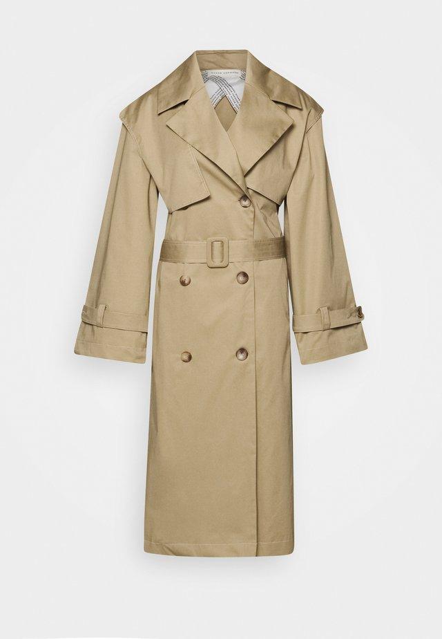 MIMI CTHICK - Trenchcoats - beige