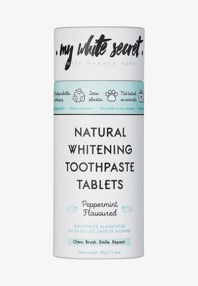 TOOTHPASTE TABLETS - Zahnpflege - -