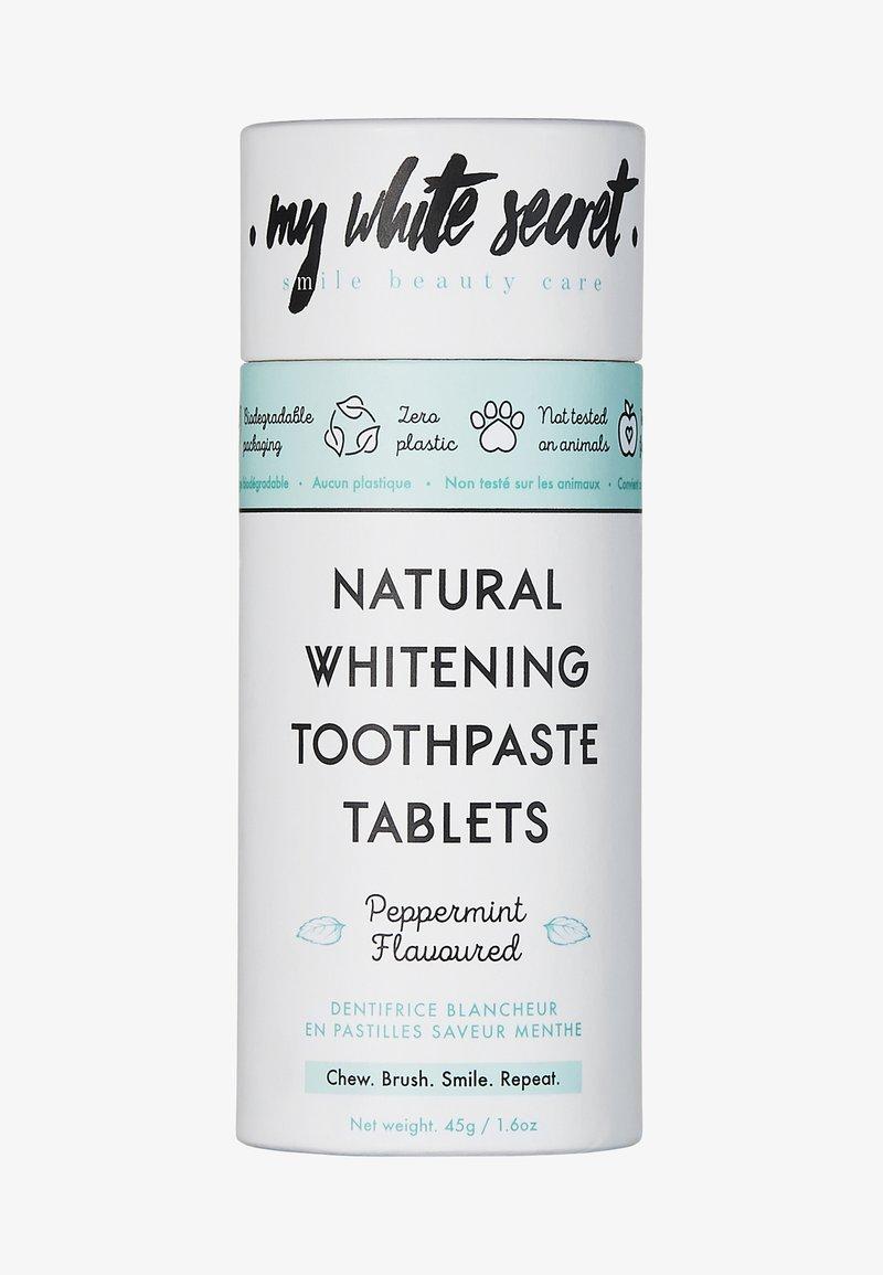 My White Secret - TOOTHPASTE TABLETS - Zahnpflege - -
