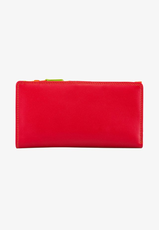 WALLET ZIPPED CENTRE - Wallet - red