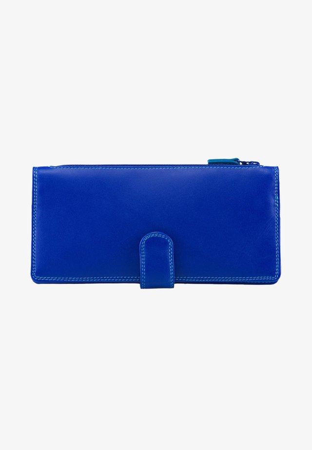 TAB PURSE GELDBÖRSE LEDER 19 CM - Geldbörse - blue