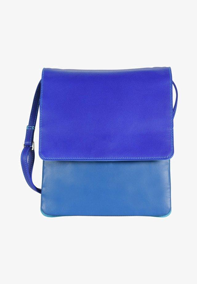 Across body bag - blue/light blue