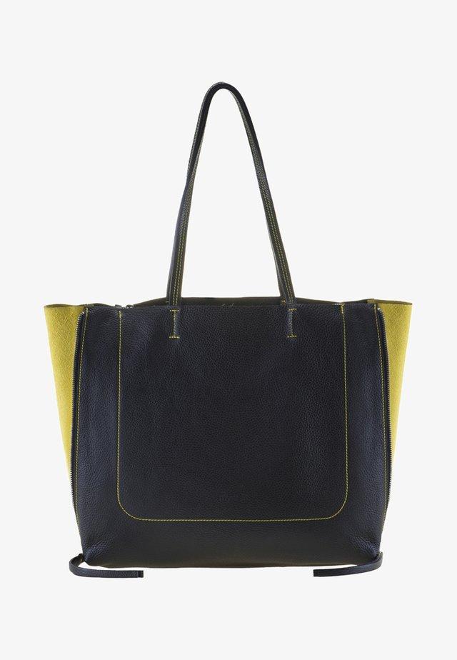 RHODES - Shopping Bag - black/yellow
