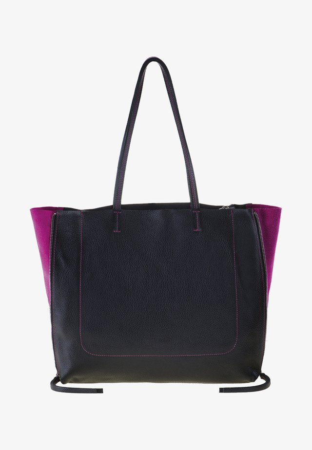 RHODES - Shopper - black/pink
