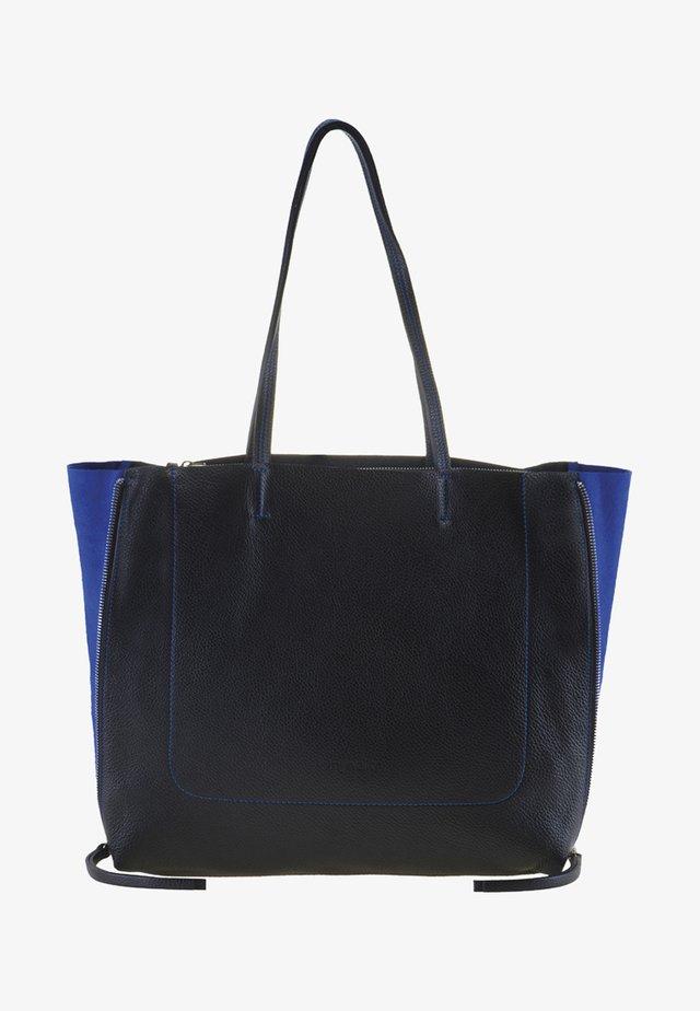 RHODES - Cabas - black/blue