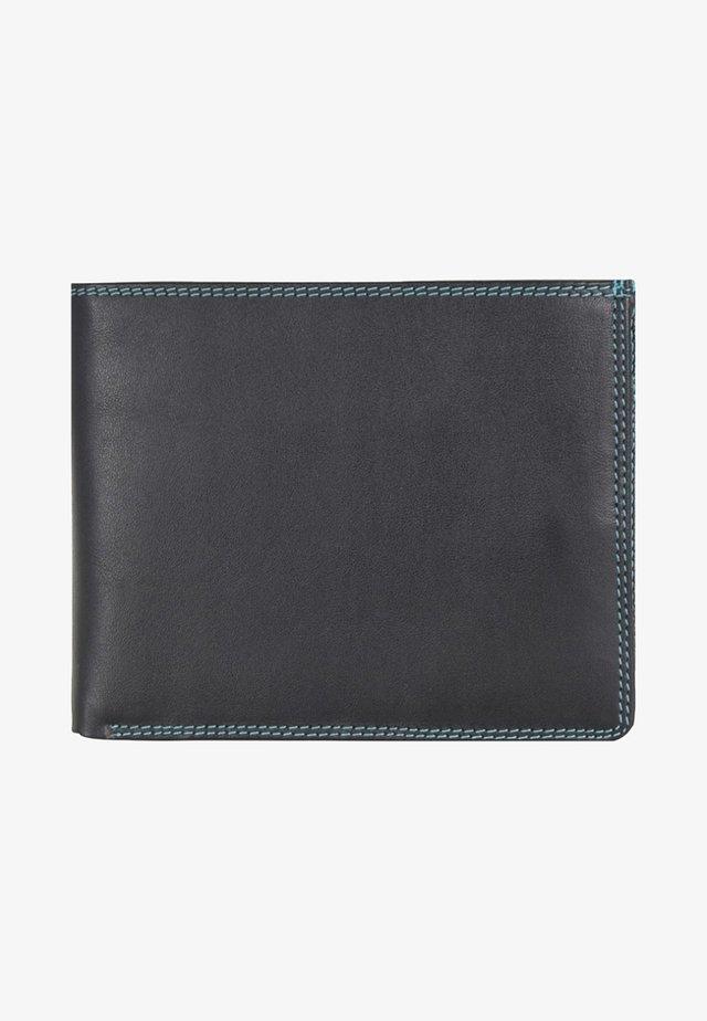 Wallet - metallic black